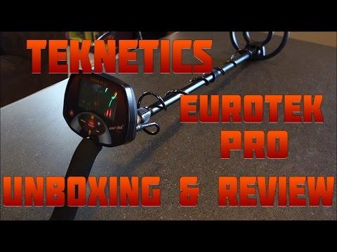 Metal Detecting: Teknetics EuroTek Pro Unboxing and Review