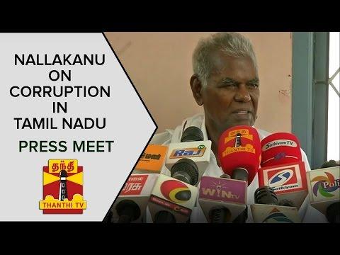 TN-Elections-2016--Nallakannus-Press-Meet-On-Corruption-Constituencies-For-CPI-Thanthi-TV