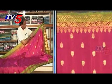 Snehitha | Gadwal Pattu Sarees | PART 1 : TV5 News 23 July 2014 04 PM