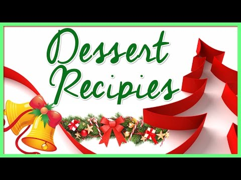 Easy Desserts To Make At Home | Christmas Recipes Compilation