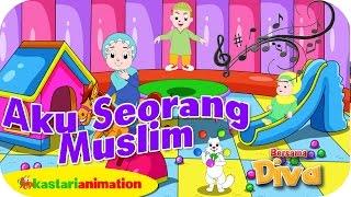 AKU SEORANG MUSLIM  - Lagu Anak Indonesia - HD | Kastari Animation Official