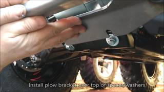 1. How to Install a Warn Front Plow Mount on the CAN-AM Outlander 450 & 570