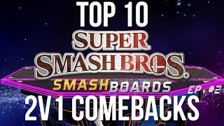 Super Smash Bros. Top 10 2v1 Comebacks – Episode  2