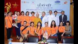 Lễ ký kết hợp tác trao đổi y tế 10-10-2018