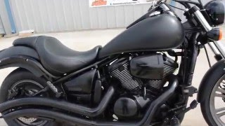 8. 2009 Kawasaki Vulcan 900 Custon Satin Black