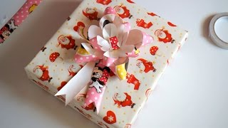 Learn Gift Box Wrapping! Easy.