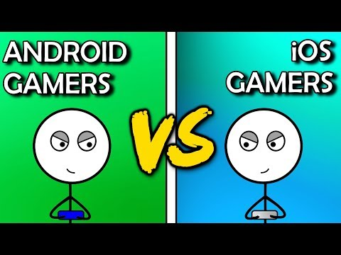 Android Gamers VS iOS Gamers