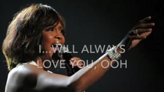 I will always love you - Whitney Houston - Karaoke male version lower (-6)