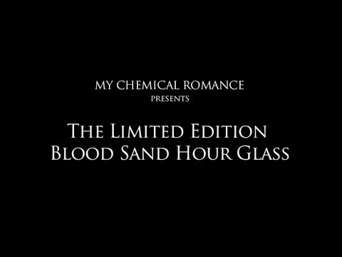 My Chemical Romance - Limited Edition Blood Sand Hourglass