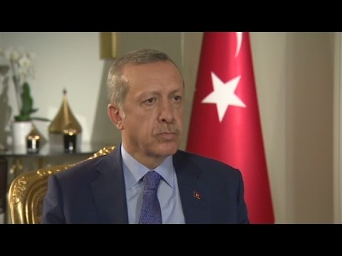 Israel - Turkish Prime Minister Recep Tayyip Erdogan reacts to the Israeli President's claim that Qatar is funding terrorism.