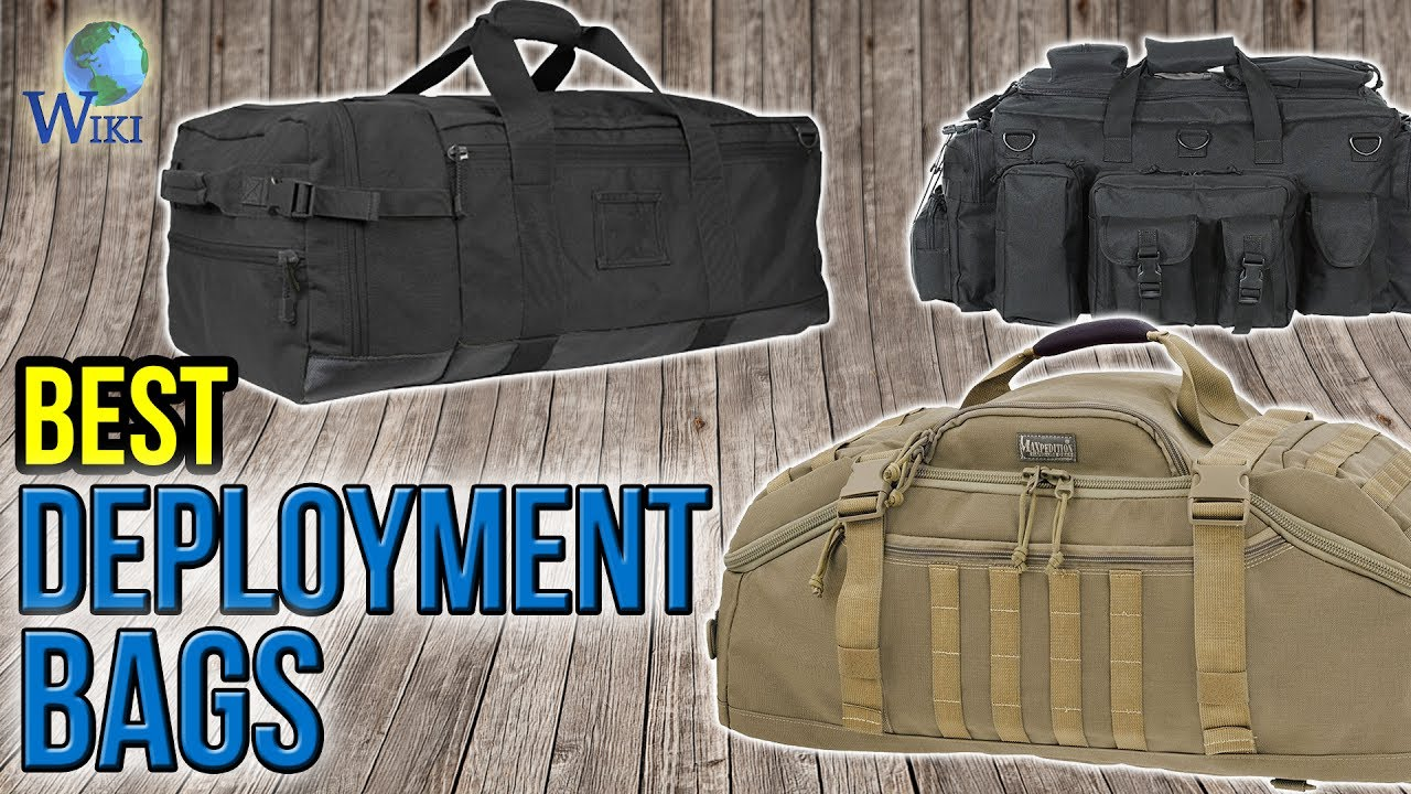 10 Best Deployment Bags 2017
