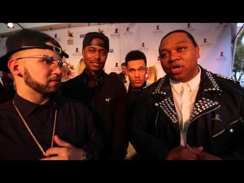 Video: Andy Mineo, Trip Lee, Tedashii, KB on Dove Awards 2014 Red Carpet