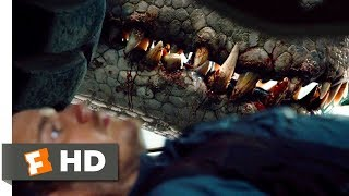 Jurassic World  2015    It S In There With You Scene  2 10    Movieclips