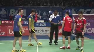 Video BCA Indonesia Open 2016 | Badminton R16 M2-MD | Lee/Yoo vs Gid/Suk MP3, 3GP, MP4, WEBM, AVI, FLV Agustus 2018