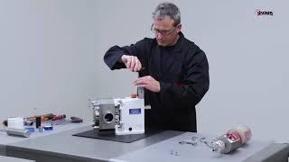 SLR lamelové čerpadlo - proces montáže automatického olejového čerpadla
