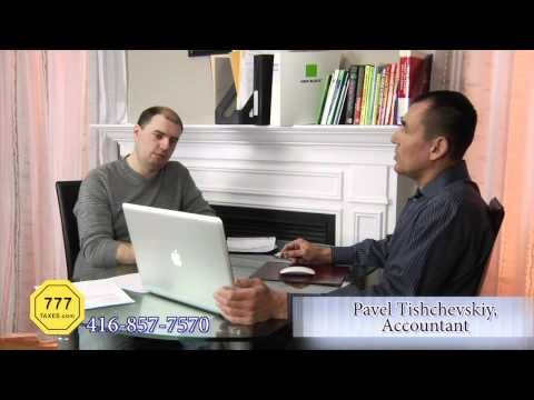 Part 5. Tax Time with Pavel Tishchevskiy. Vehicle Expenses.  Toronto, Canada.
