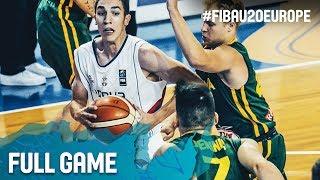 Watch Lithuania v Serbia at the FIBA U20 European Championship 2017. ▻▻ Subscribe: http://fiba.com/subYT Click here for...