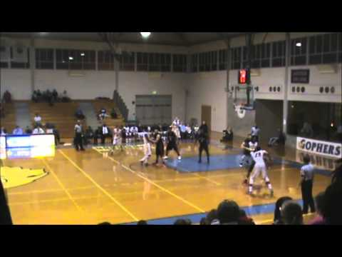 Goucher vs. Catholic MBB Highlights - 1/29/14
