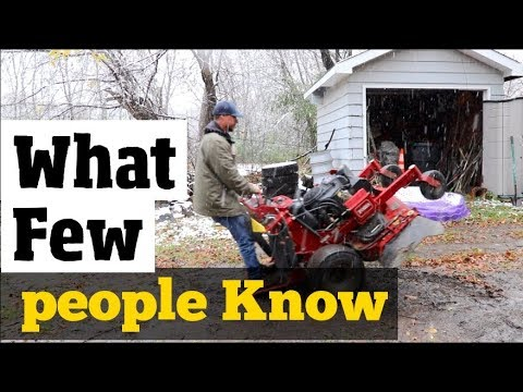 , title : 'How to Winterize & Store Equipment- Stuff I didn't know until I made this video Explained clearly'