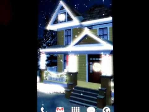 Video of Holiday Lights Live Wallpaper