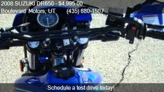6. 2008 SUZUKI DR650  for sale in St George, UT 84770 at the Bo