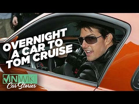Getting Tom Cruise a car via overnight mail and dealing with Chruch of Scientology.