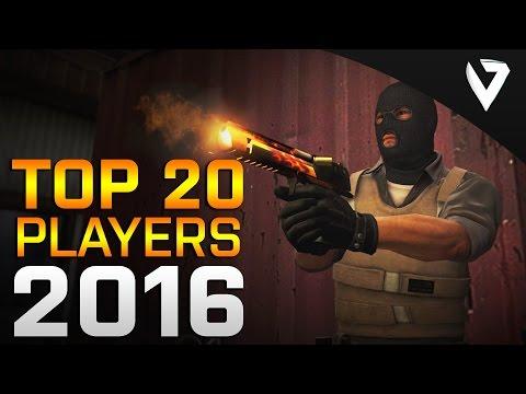 CS:GO - Top 20 Players of 2016 (Fragmovie)