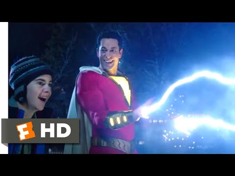 Shazam! (2019) - New Superpowers Scene (1/9) | Movieclips