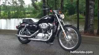 7. Used 2009 Harley Davidson Sportster 1200 Custom Motorcycles for sale - Cocoa Beach, FL