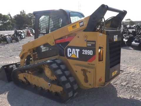 CATERPILLAR SKID STEER LOADERS 289DSTD2CA equipment video OkDet4oiYL0