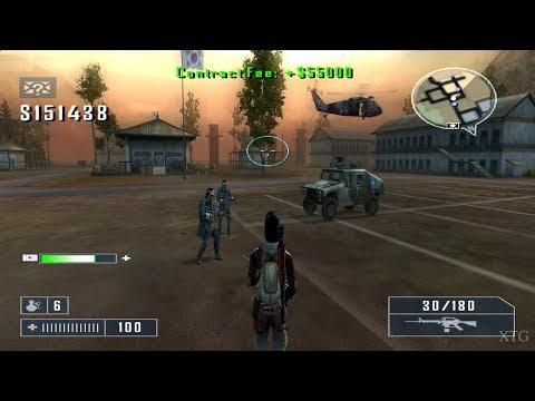 Mercenaries: Playground of Destruction PS2 Gameplay HD (PCSX2)