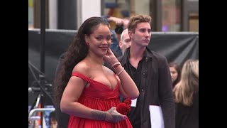"There were all eyes on Rihanna at the U.K. premiere of ""Valerian and the City of a Thousand Planets,"" where director Luc Besson reacted to the film's poor box office showing in the U.S.. (July 25)Subscribe for more Breaking News: http://smarturl.it/AssociatedPress