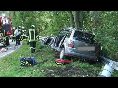 Dalwiksthal: Beifahrerin schwer verletzt