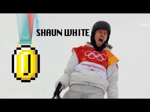 Shaun White Mario Run (видео)