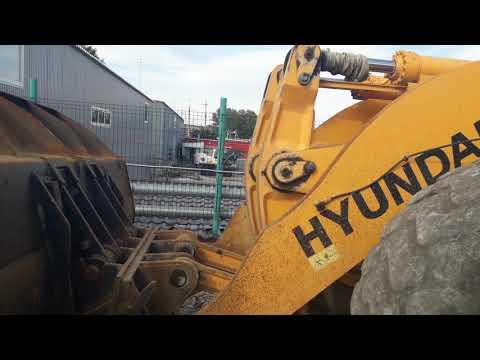 HYUNDAI CONSTRUCTION EQUIPMENT WIELLADERS/GEÏNTEGREERDE GEREEDSCHAPSDRAGERS HL780-9S equipment video OkHFpBNlbs4