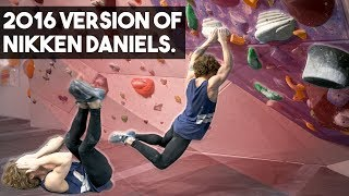 4 years since Nikken had this kind of enemy. (Climbing Battle) by Eric Karlsson Bouldering