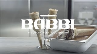 Video Tutorial - Helado Cremino Babbi
