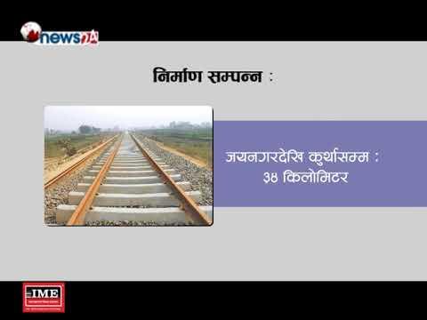 (मंसिरको अन्तिम सातासम्ममा नेपालमा रेल कुद्ने - NEWS24 TV - Duration: 2 minutes, 12 seconds.)