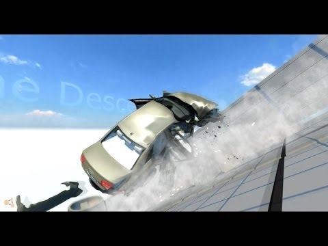 Beam NG DRIVE - Ауди раскрошилась :О