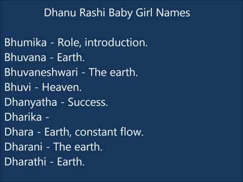 Video Dhanu Rashi Baby Girl Names download in MP3, 3GP, MP4, WEBM, AVI, FLV January 2017