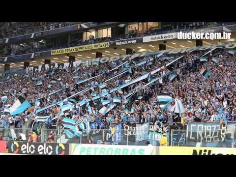 Grêmio 3 x 1 Coritiba - Copa do Brasil 2015 - Festa na Geral/Pingos de amor - Geral do Grêmio - Grêmio