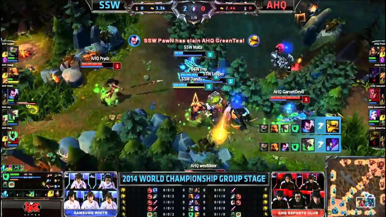 [spoiler] Decisive fight between Samsung White and AHQ.