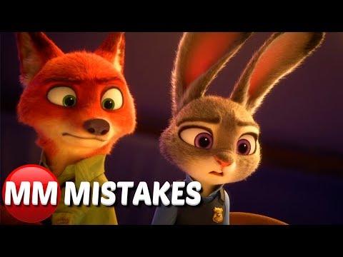 10 Biggest MORE Zootopia MOVIE MISTAKES You Need To See |  Zootopia Movie Goofs