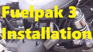 5. Fuelpak 3 Install and Overview - 2015 HD Dyna Street Bob FXDB