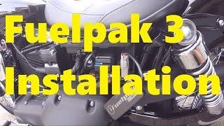 8. Fuelpak 3 Install and Overview - 2015 HD Dyna Street Bob FXDB