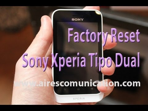 Xperia St27i Hard Reset How to Hard Reset Sony Xperia