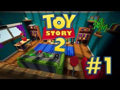 Toy Story: MINECRAFT - Mapa de Aventuras Con Mi Hermana - Episodio 1