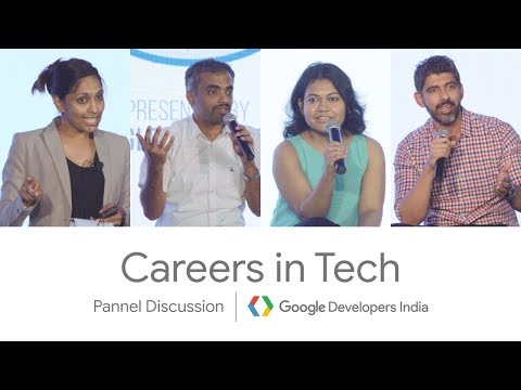 Careers in Tech - Panel Discussion