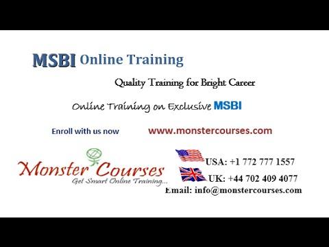 MSBI Online Training   SSIS,SSAS and SSRS Online Training  SQL Server Training