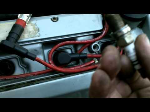 Mercedes r129 500sl M119 v8 spark plug replacement